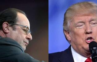 Trump dit que Paris n'est plus Paris, Hollande le met en garde